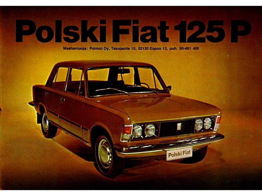 polski fiat 125 p
