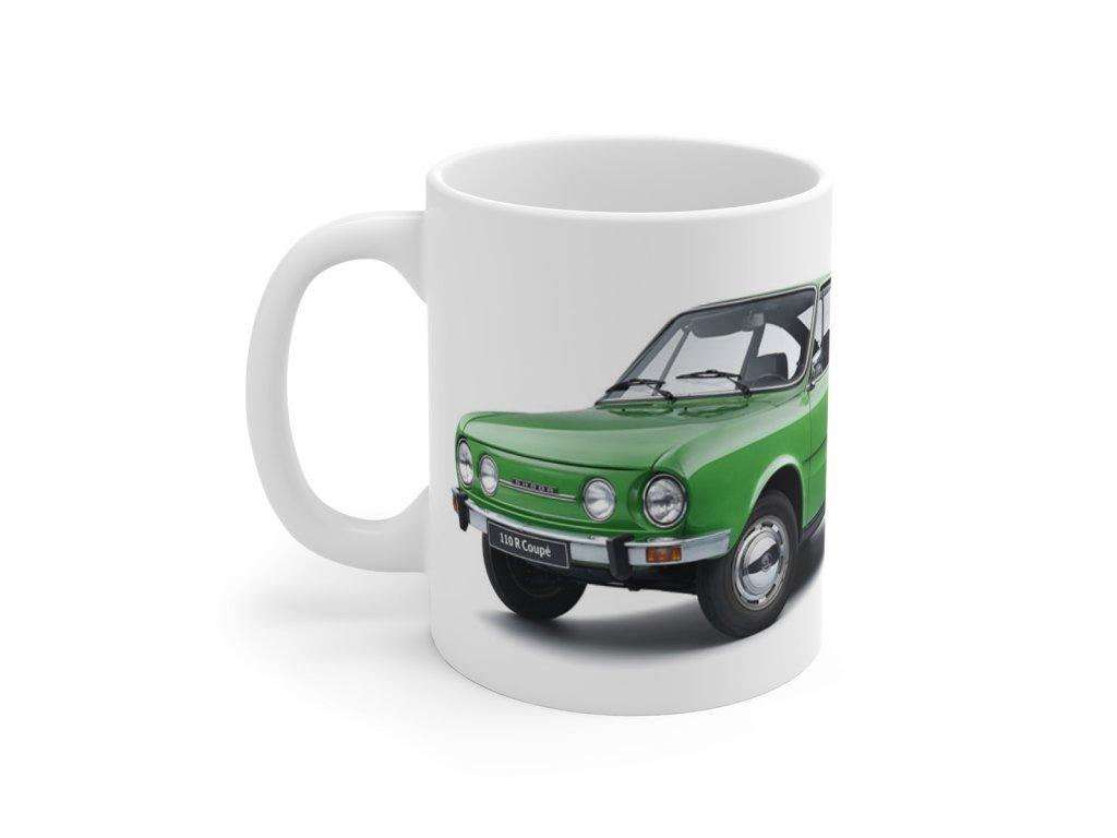 Retro hrnek - Škoda 110 R Coupe