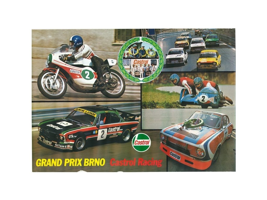 grand prix castrol racing