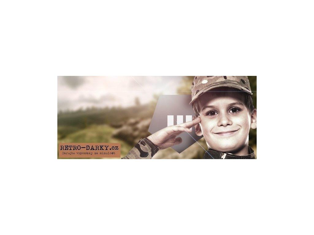 Praporčík - Příprava na zákopy (vhodné pro děti)