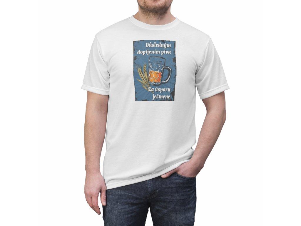 Retro tričko - Důsledným dopíjením