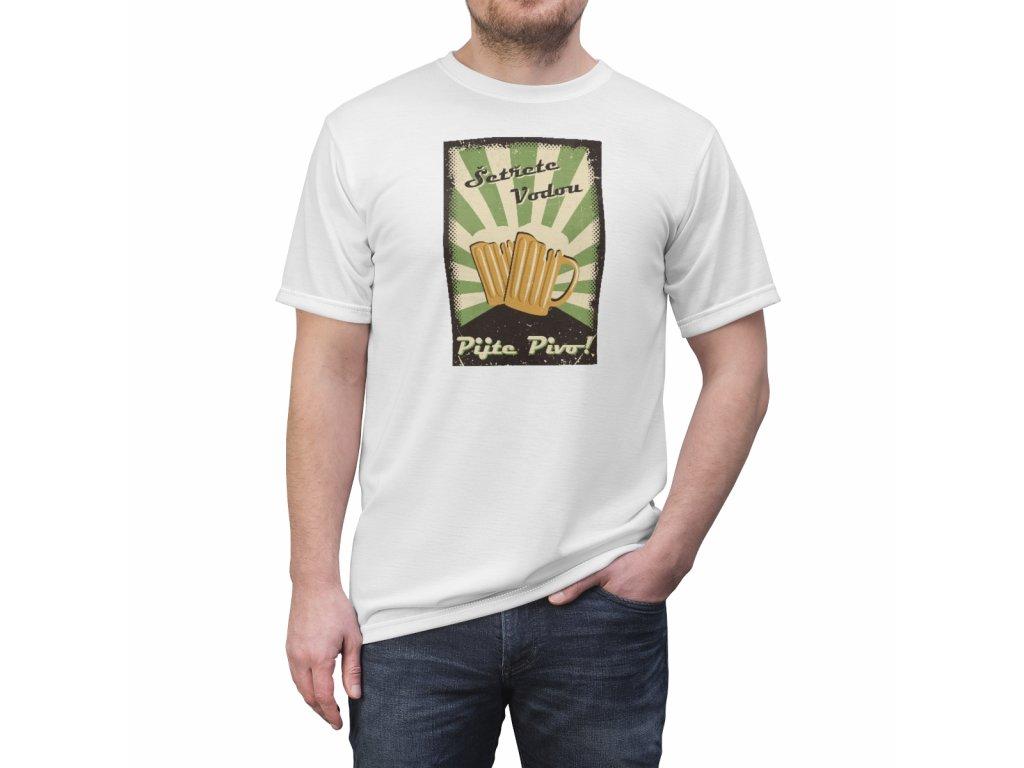 Retro tričko - Šetřete vodou