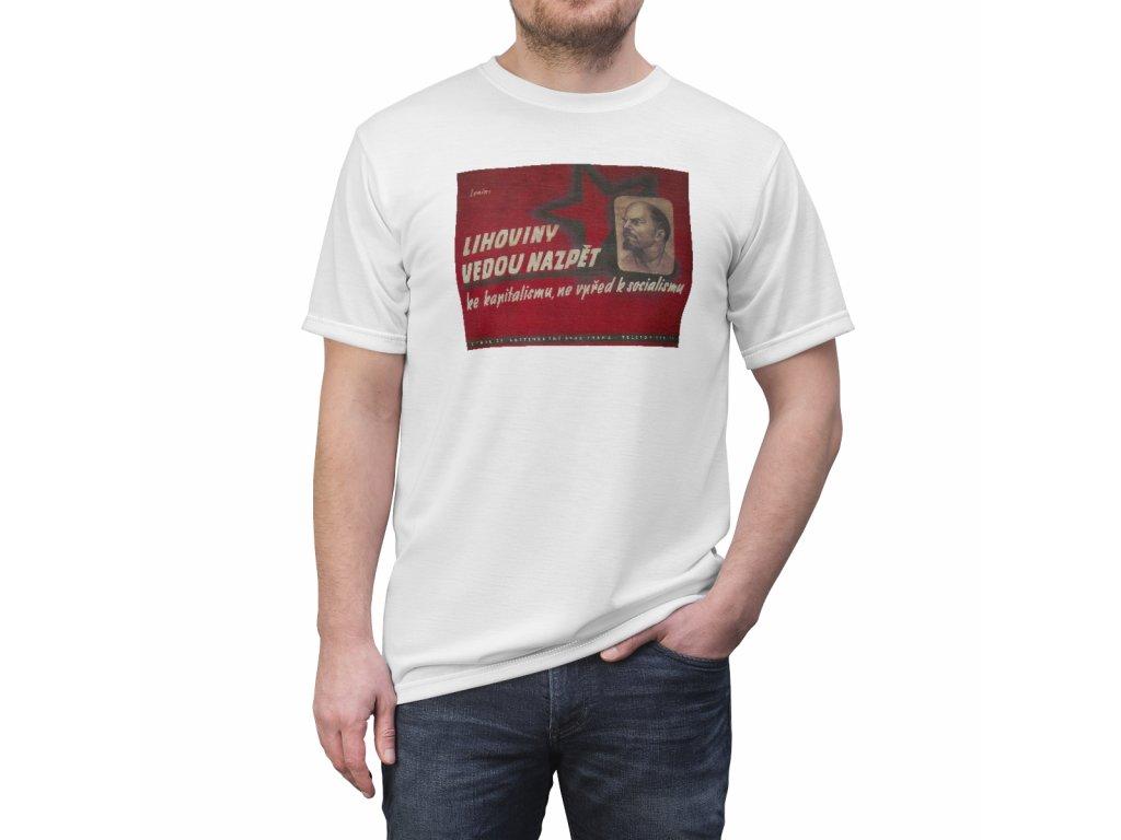 Retro tričko - Lihoviny vedou nazpět