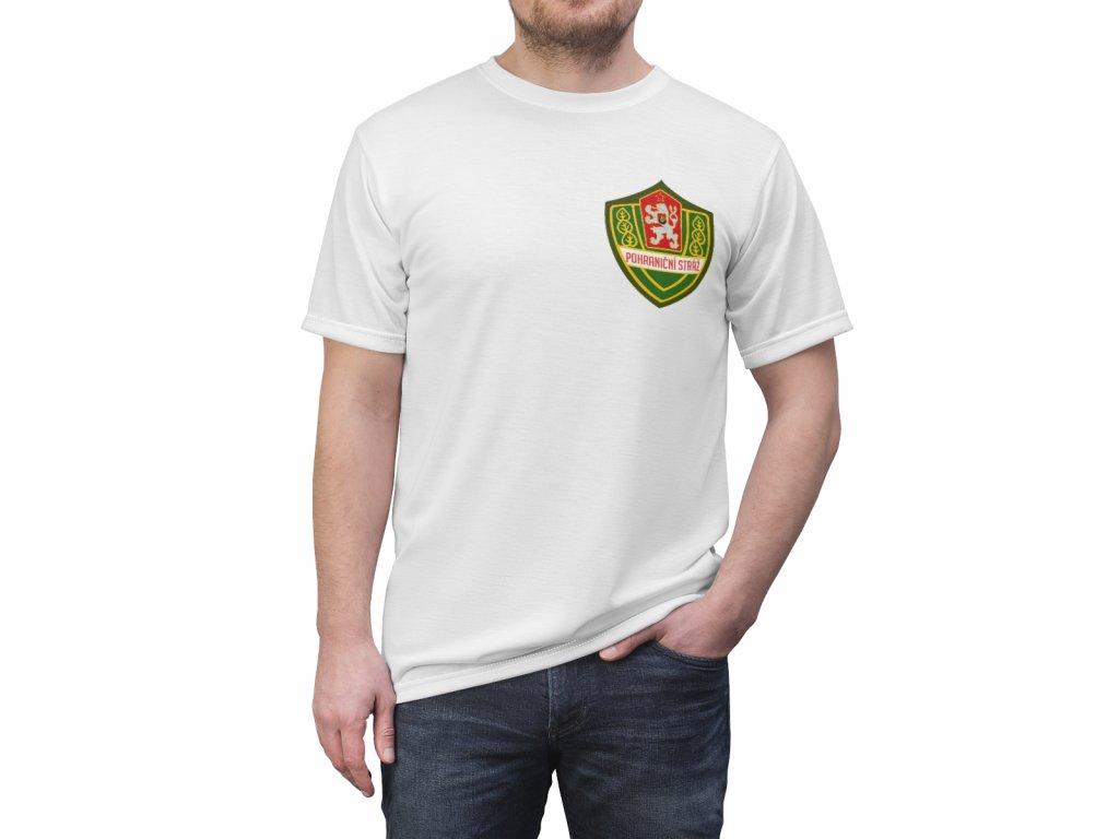 Retro tričko - Pohraniční stráž malá