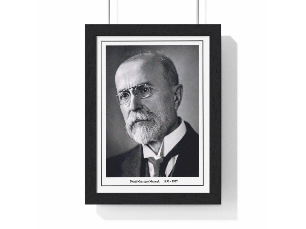 Obraz prezidenta Tomáše Garriqua Masaryka - retro dárek
