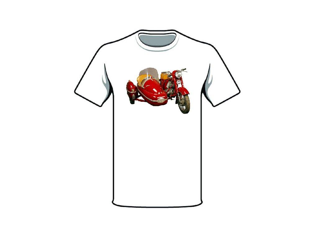 Retro tričko - JAWA CZ 350 / 554