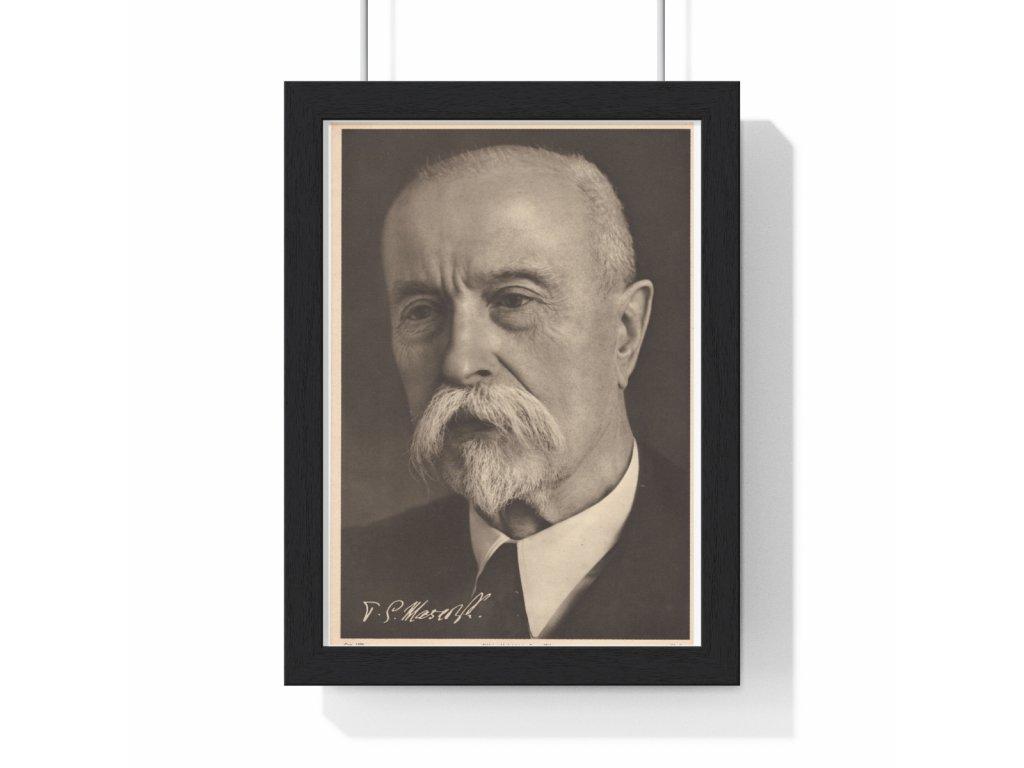 Obraz prezidenta Tomáše Garriqua Masaryka, var. 2 - retro dárek