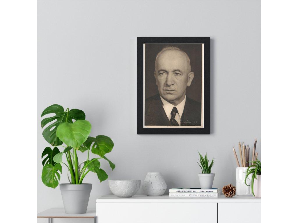 Obraz prezidenta Edvarda Beneše, var. 2 - retro dárek