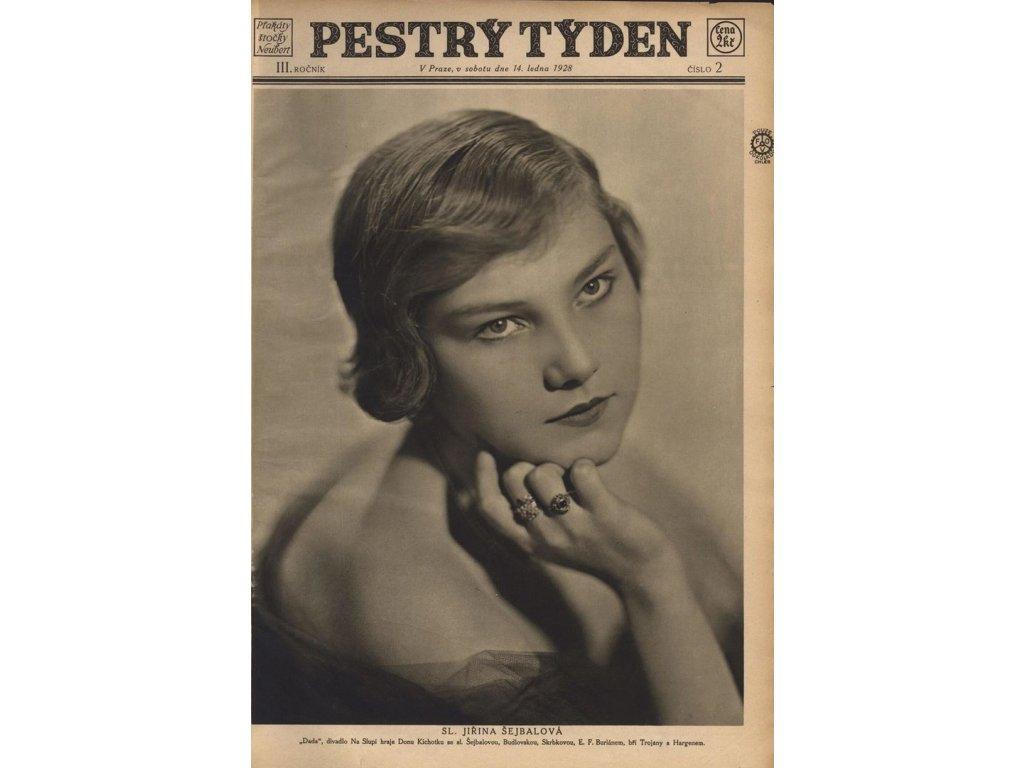 Ilustrovaný časopis Pestrý týden 1926 - 1945