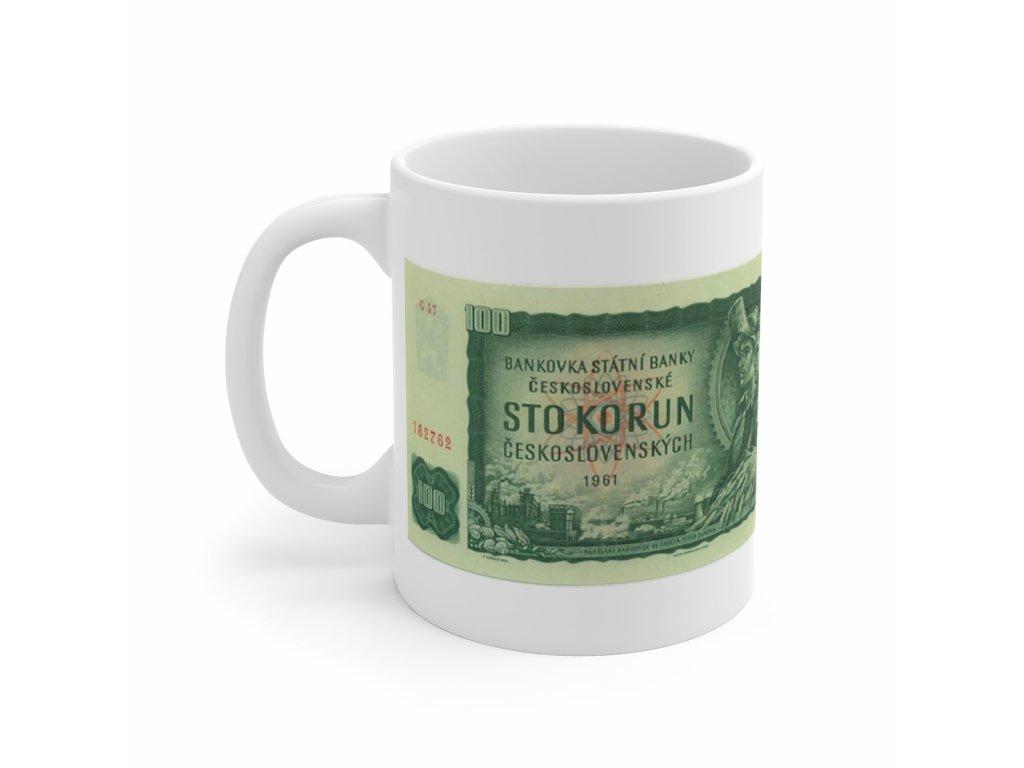 Retro hrnek - 100 Kčs, 1962 - 1993