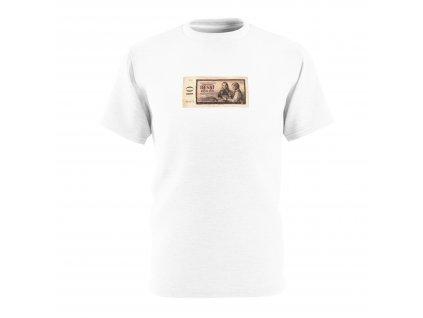 Retro tričko - 10 Kčs, 1961 - 1988