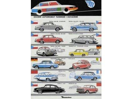 automobily tuzemské i dovážené