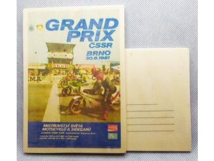 dřevěná pohlednice GRAND