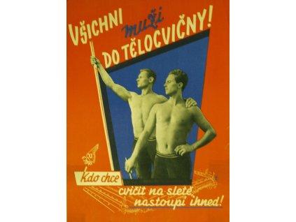 všichni muži do tělocvičny