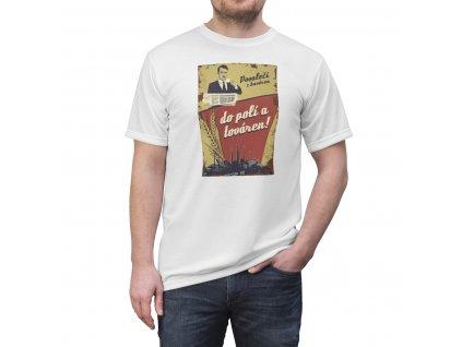 Retro tričko - Povaleči z kaváren