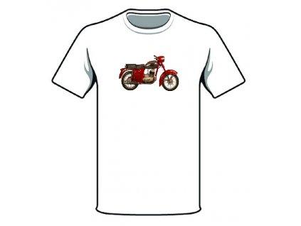 Retro tričko - JAWA 125 / 355