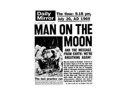 Noviny ze dne narození - Daily Mirror