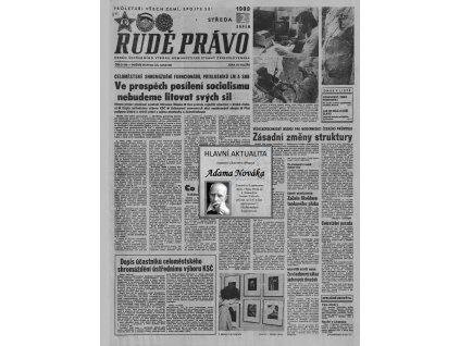 Blahopřání v novinách ze dne narození - Retro dárek