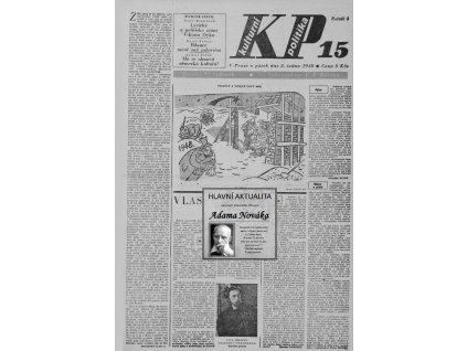 Blahopřání v novinách ze dne narození 1945 - 1949