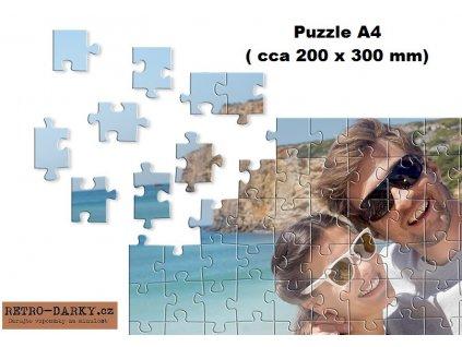Puzzle s vašim vlastním potiskem