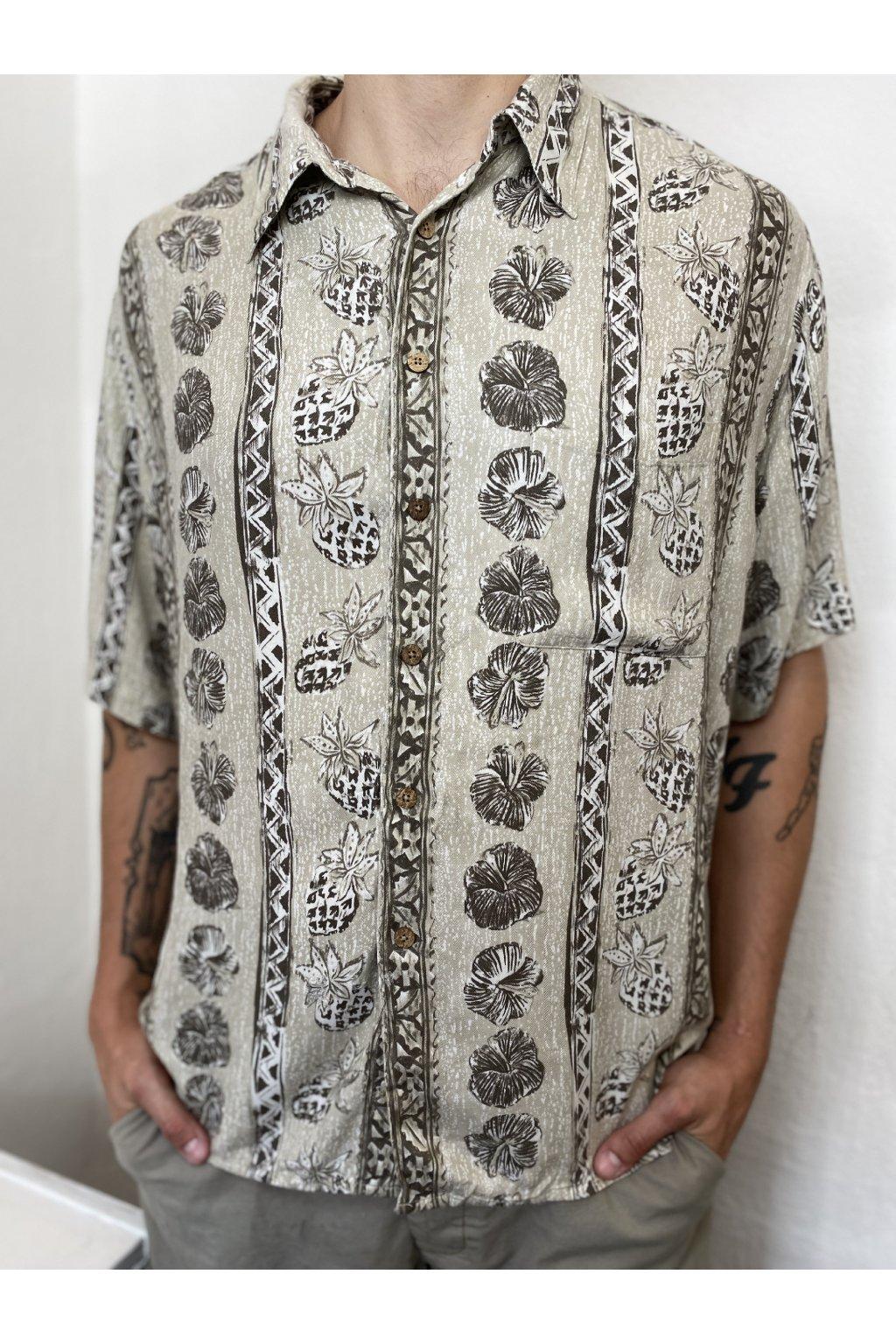 Havajská košile vel. XL