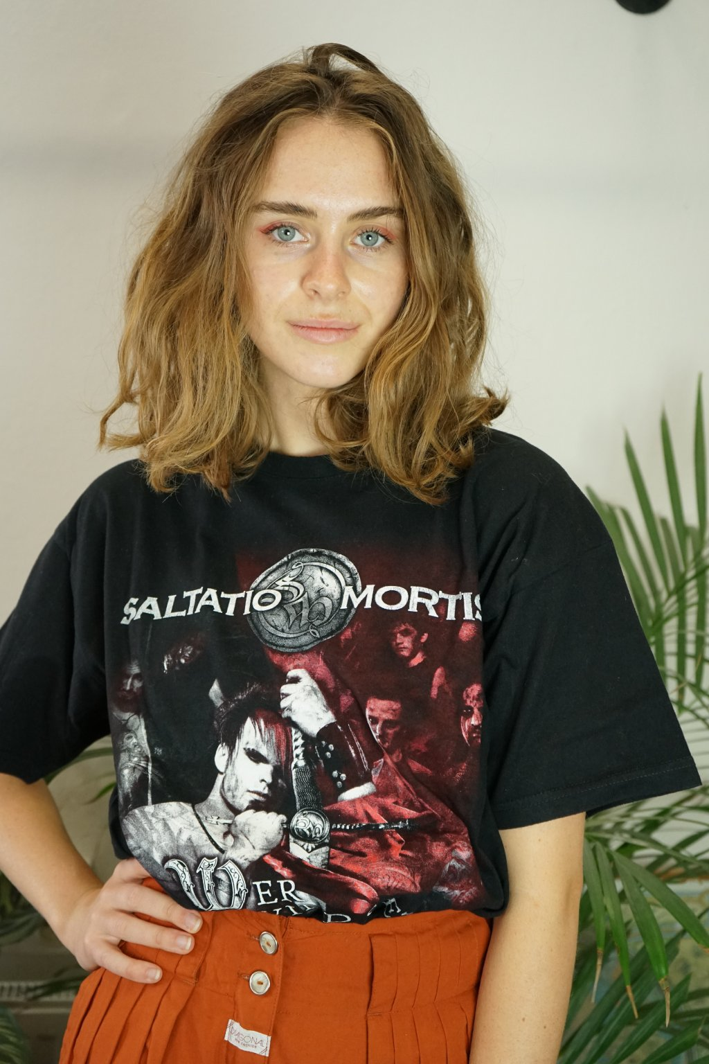 Černé triko Saltatio Mortis vel. M