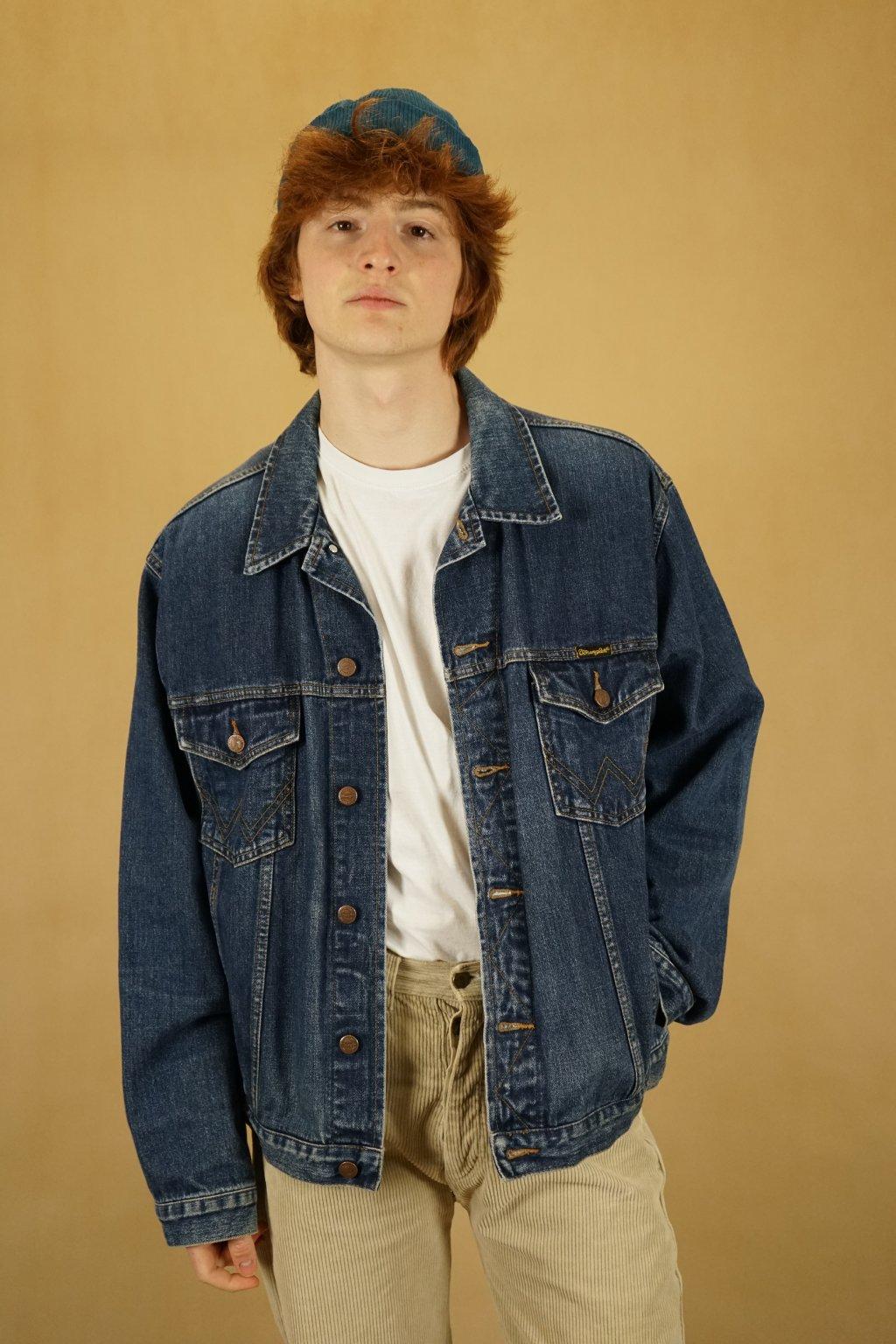 Džínová bunda Wrangler vel. L/XL