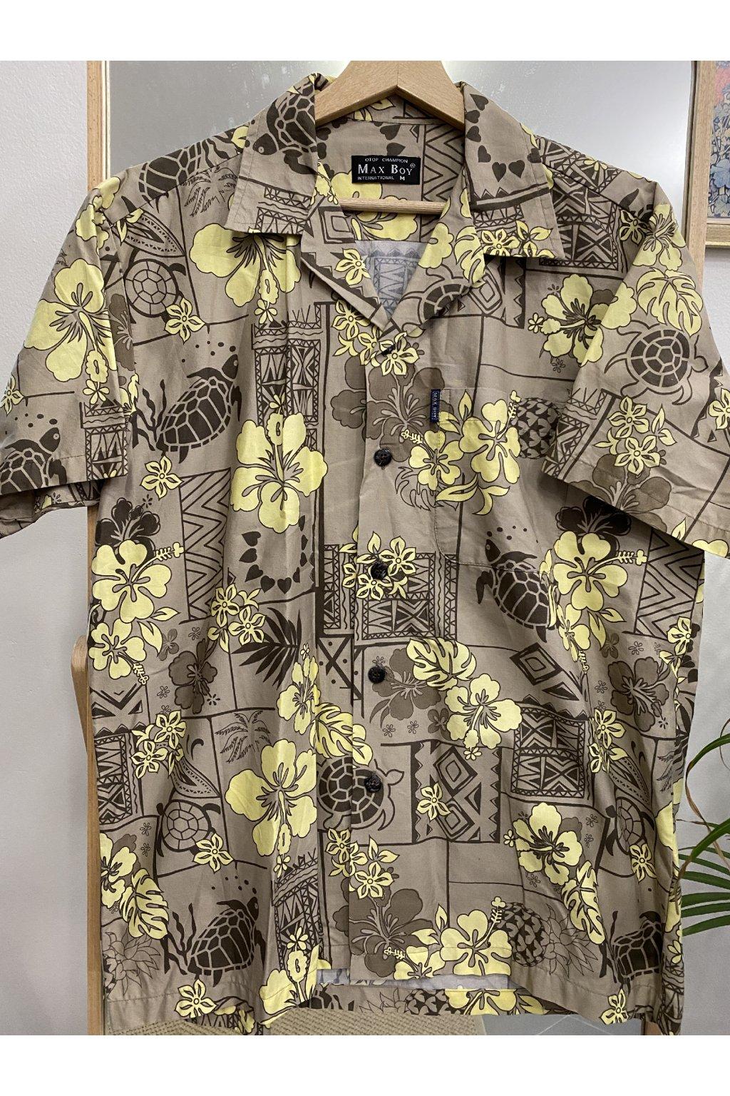 Havajská košile vel. M