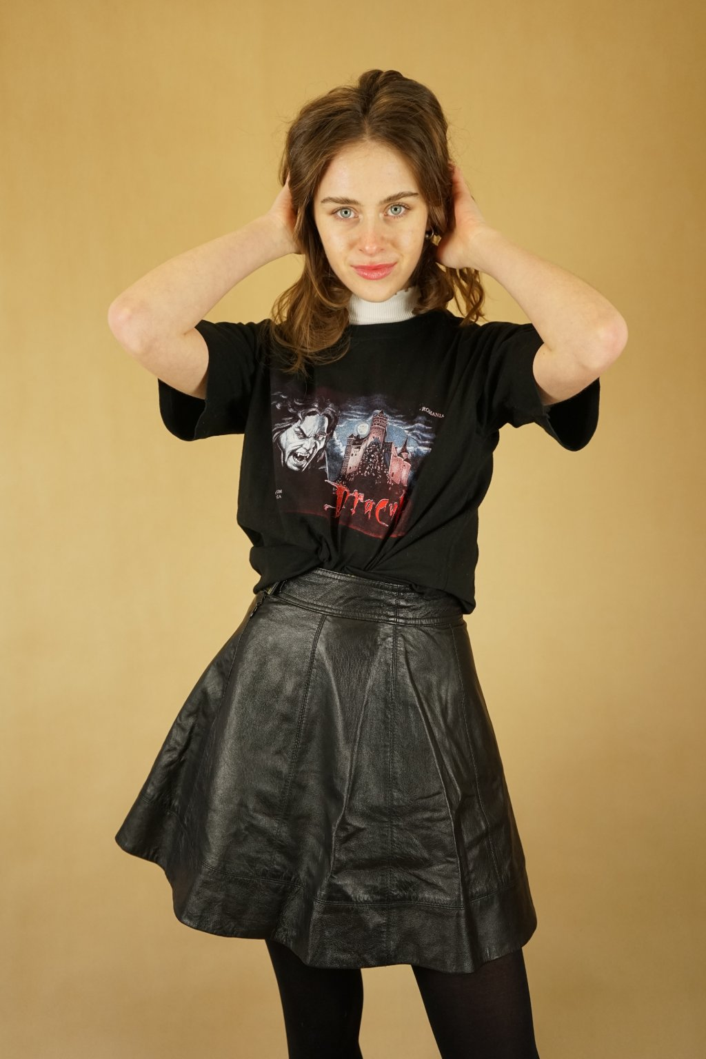 Černé triko Dracula vel. M