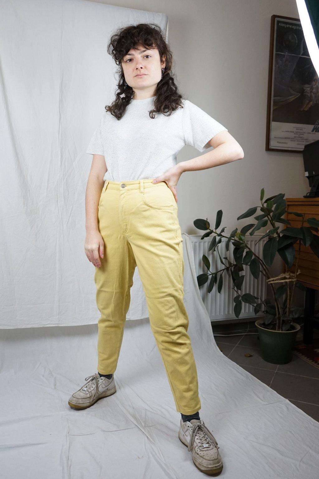 Žluté kalhoty vel. S/M