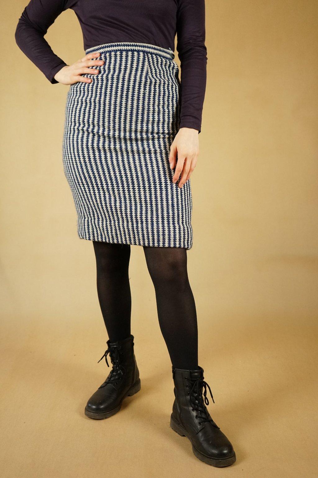 Vlněná sukně vel. XS/S