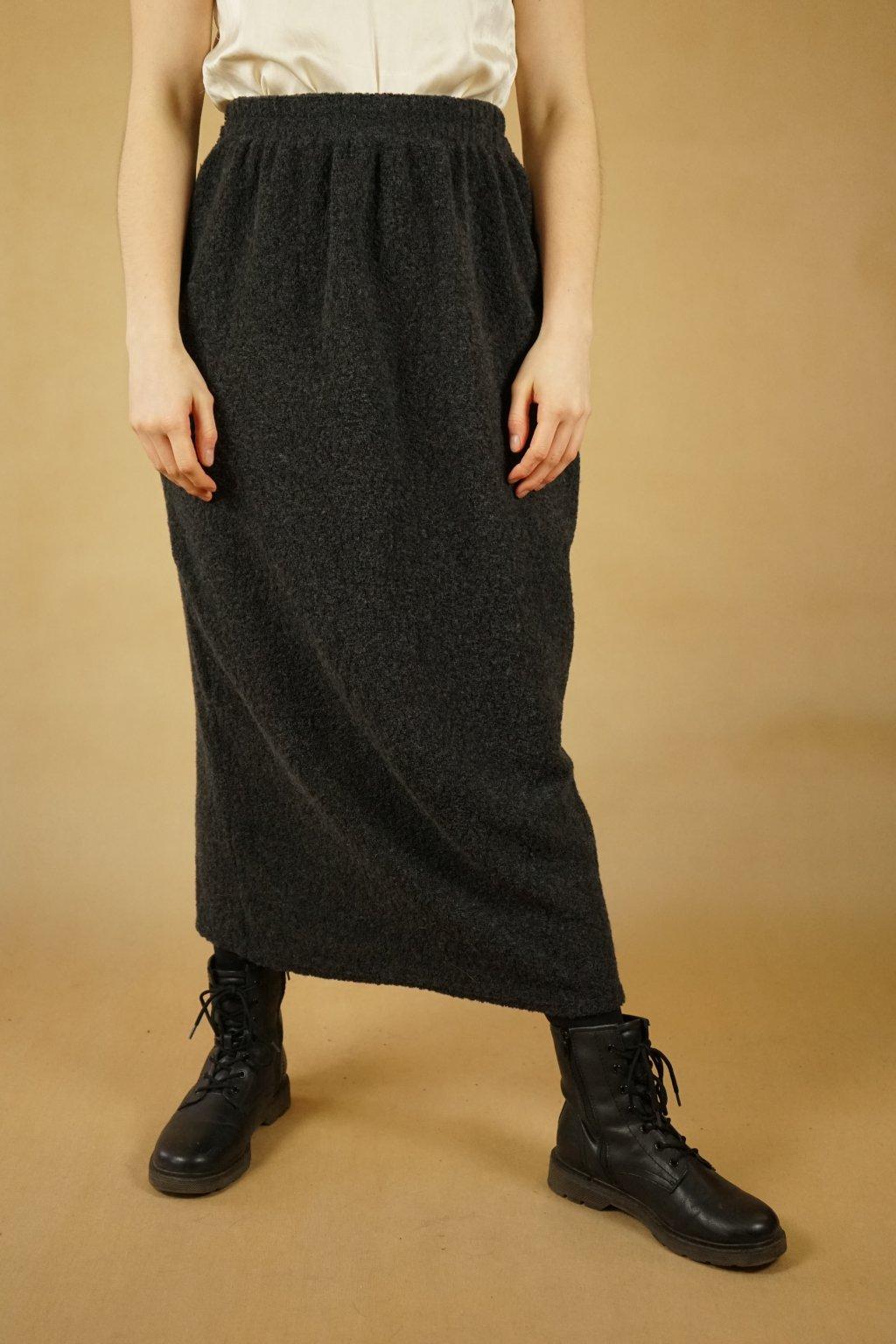 Vlněná sukně vel. M/L