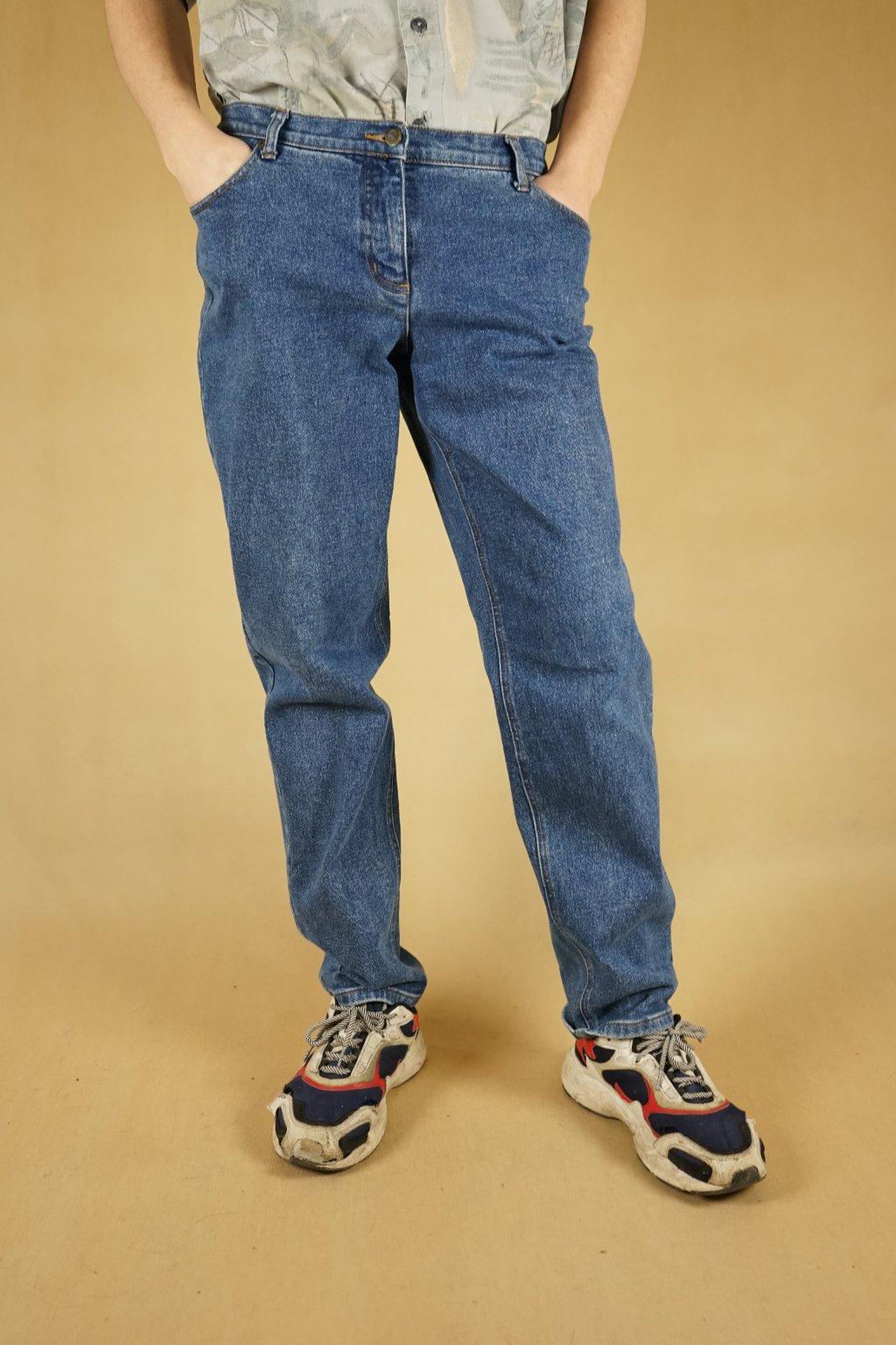Modré džíny vel. L