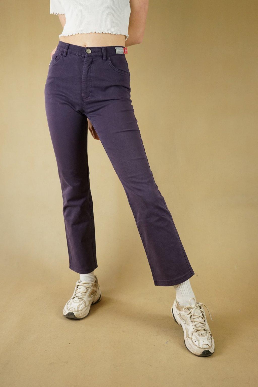 Fialové džíny Betty Barclay vel. XS/S