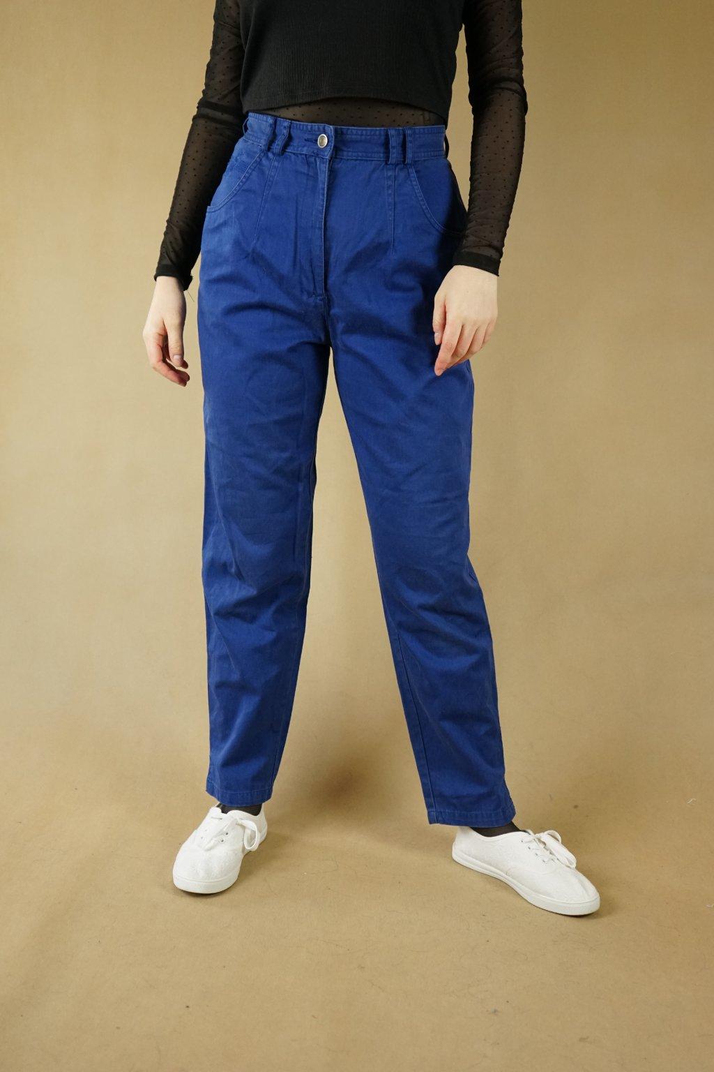 Modré kalhoty vel. S