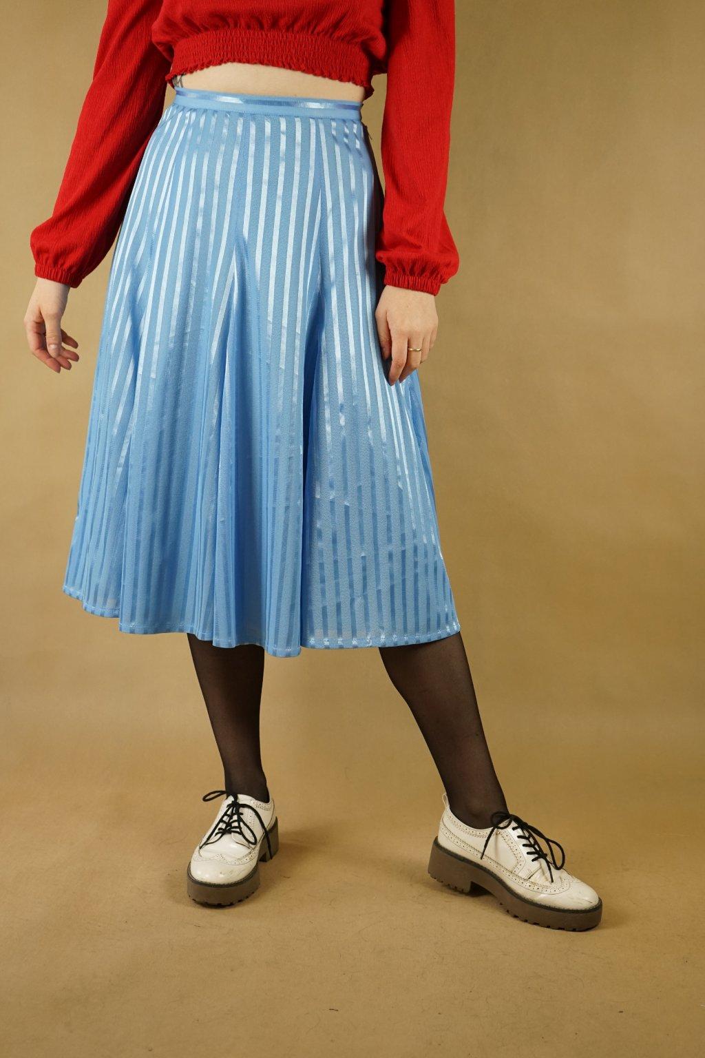 Modrá sukně vel. S
