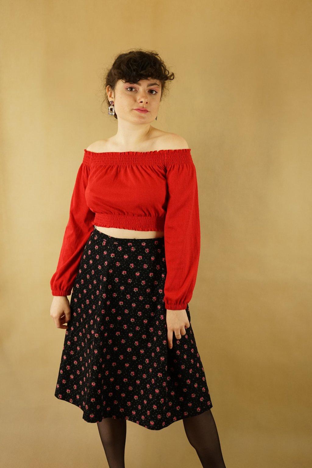 Manšestrová sukně vel. L/XL