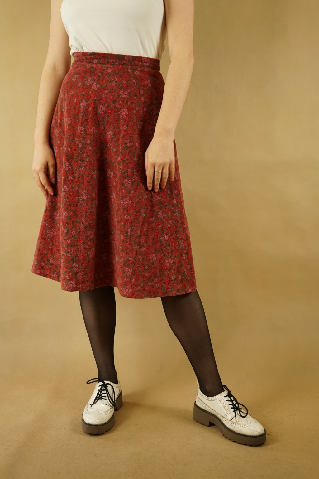 Květinová sukně vel. S