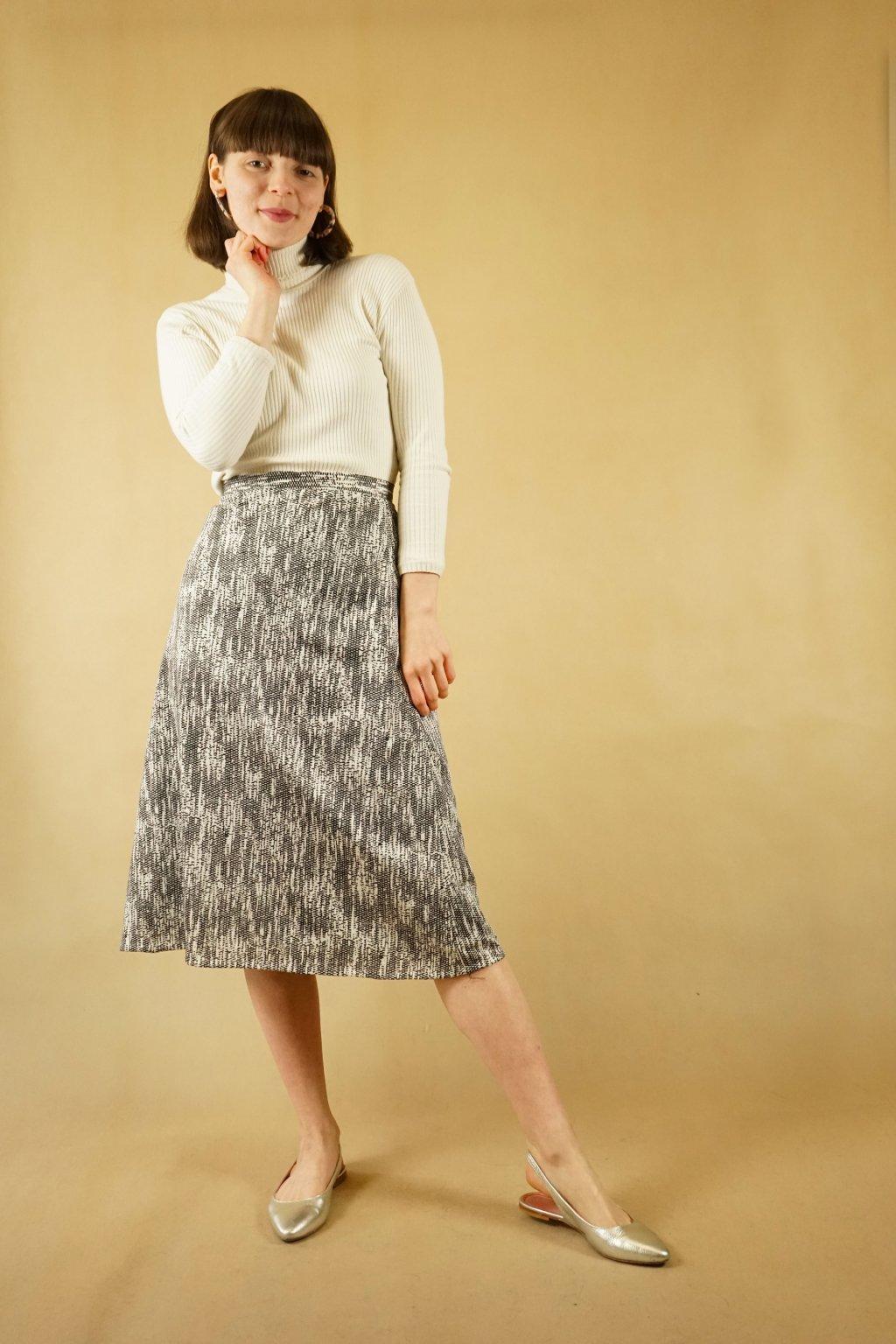 Vzorovaná sukně vel. M