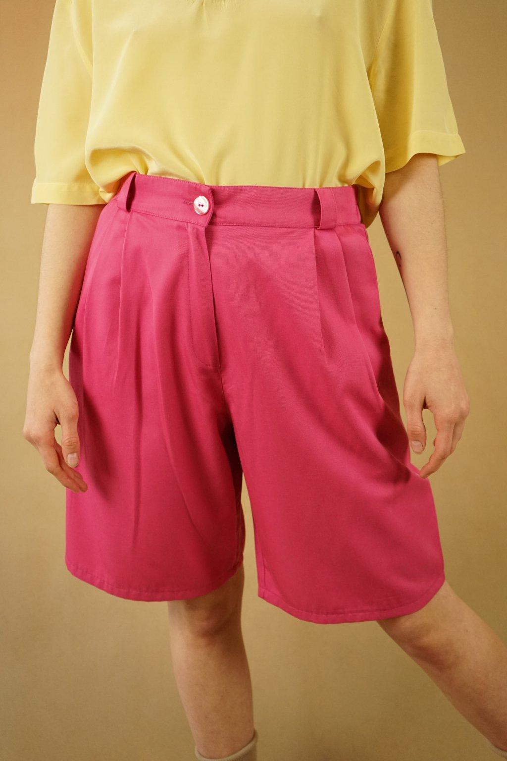 Růžové šortky vel. S/M