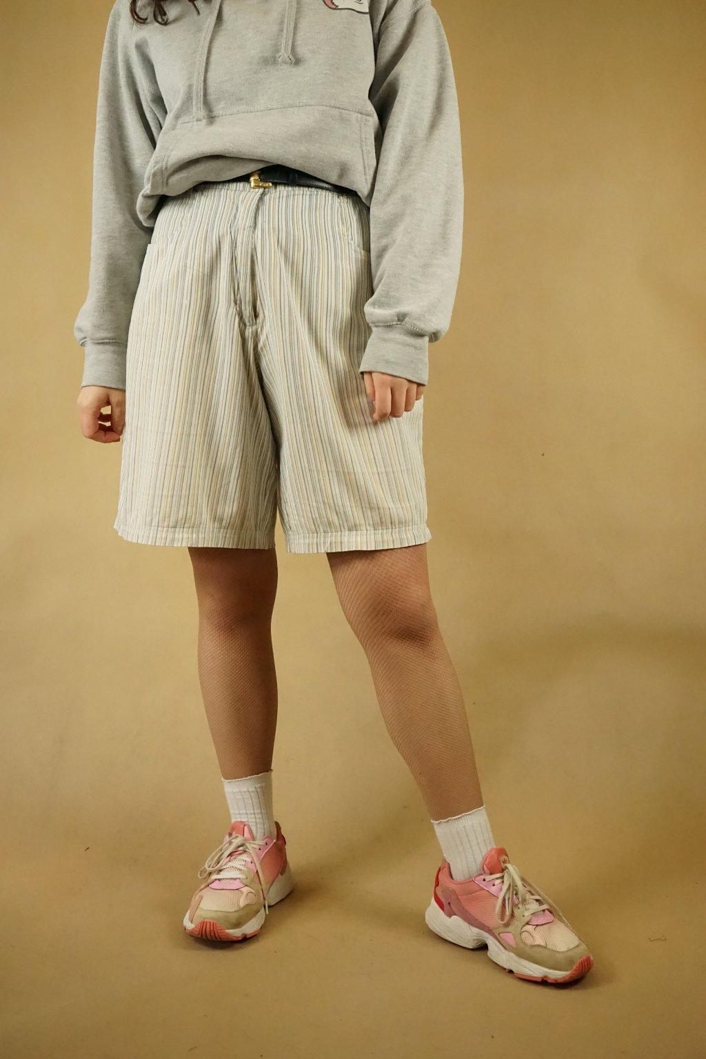 Pruhované šortky vel. L/XL