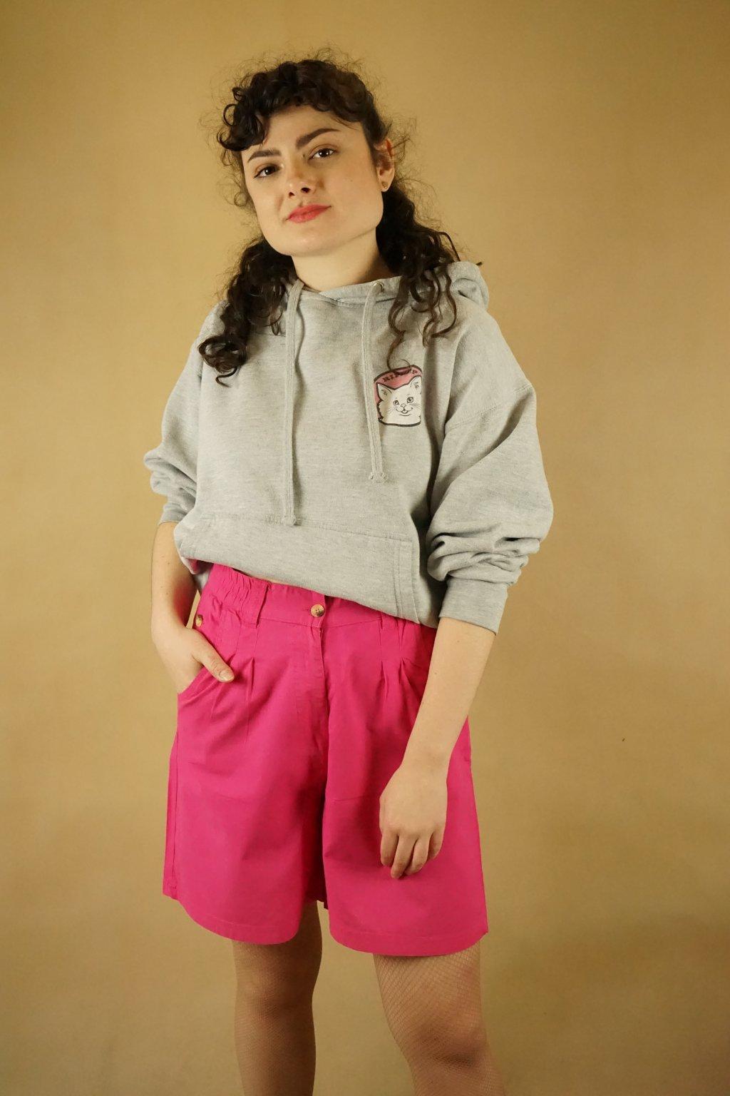 Růžové šortky vel. M-L