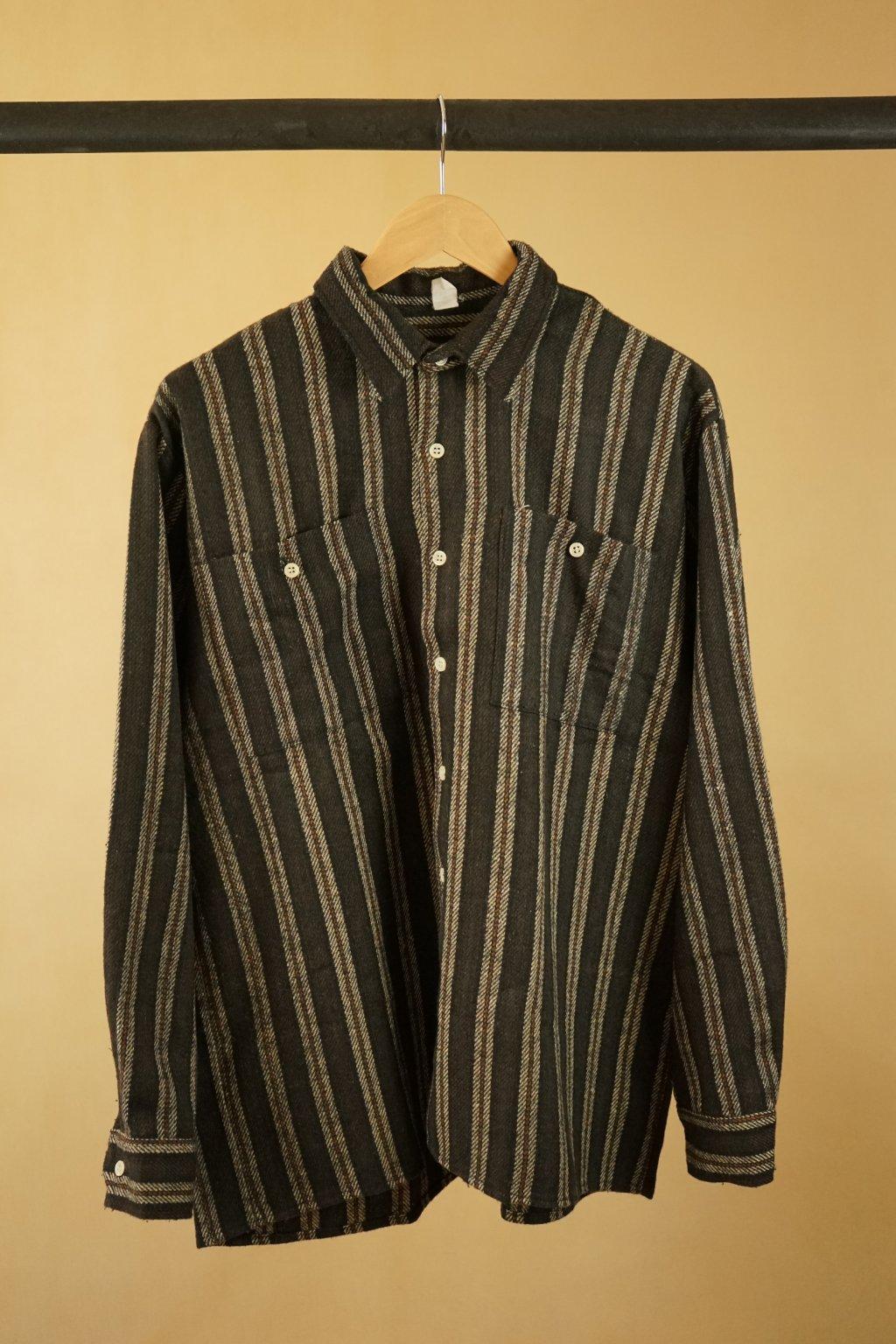 Vzorovaná flanelová košile vel. L/XL