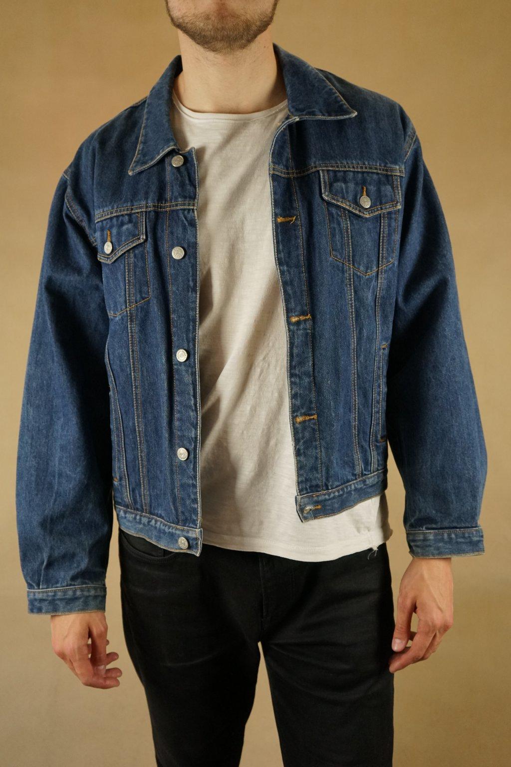 Džínová bunda vel. L