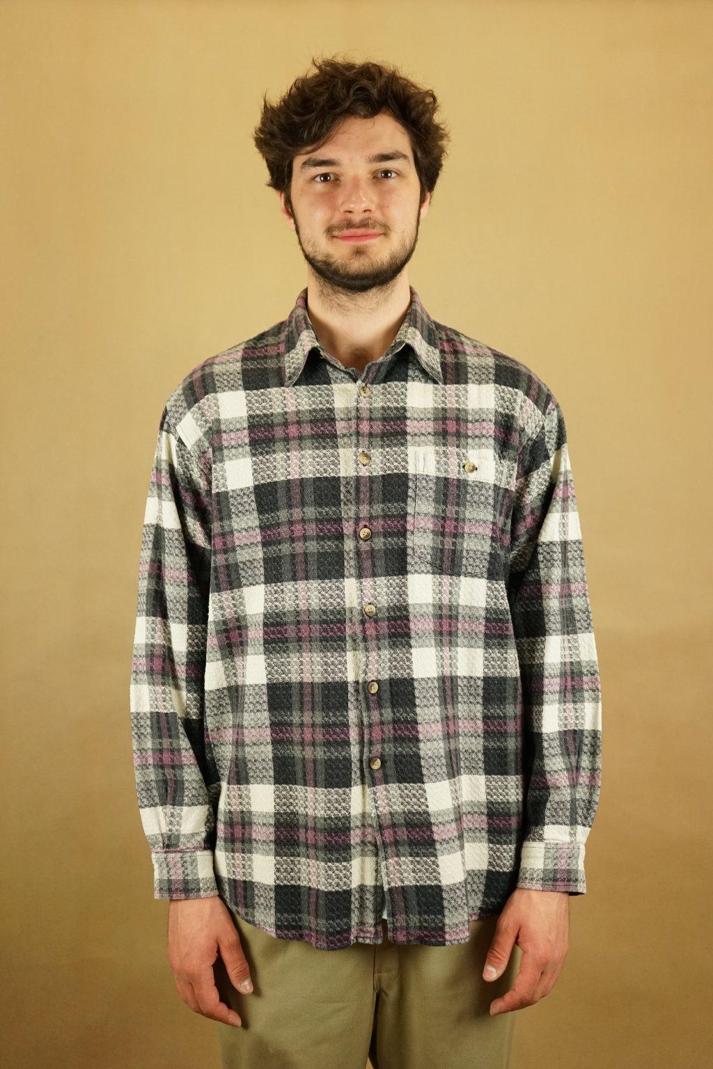 Flanelová košile vel. L