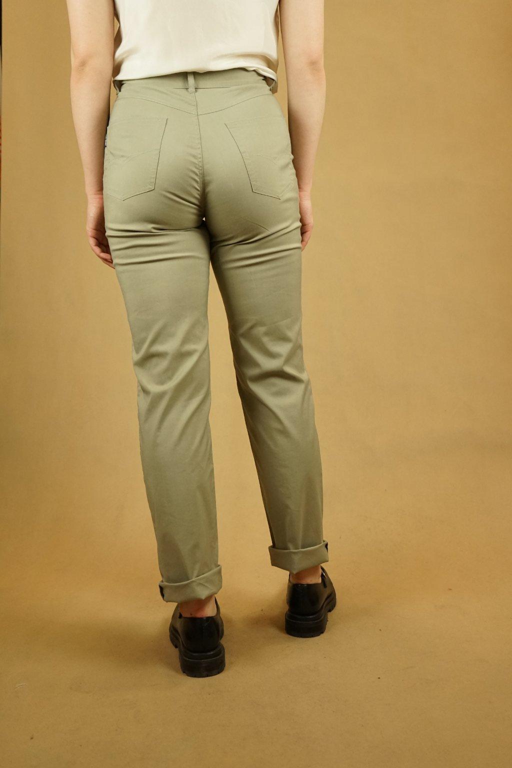 Khaki kalhoty vel. S
