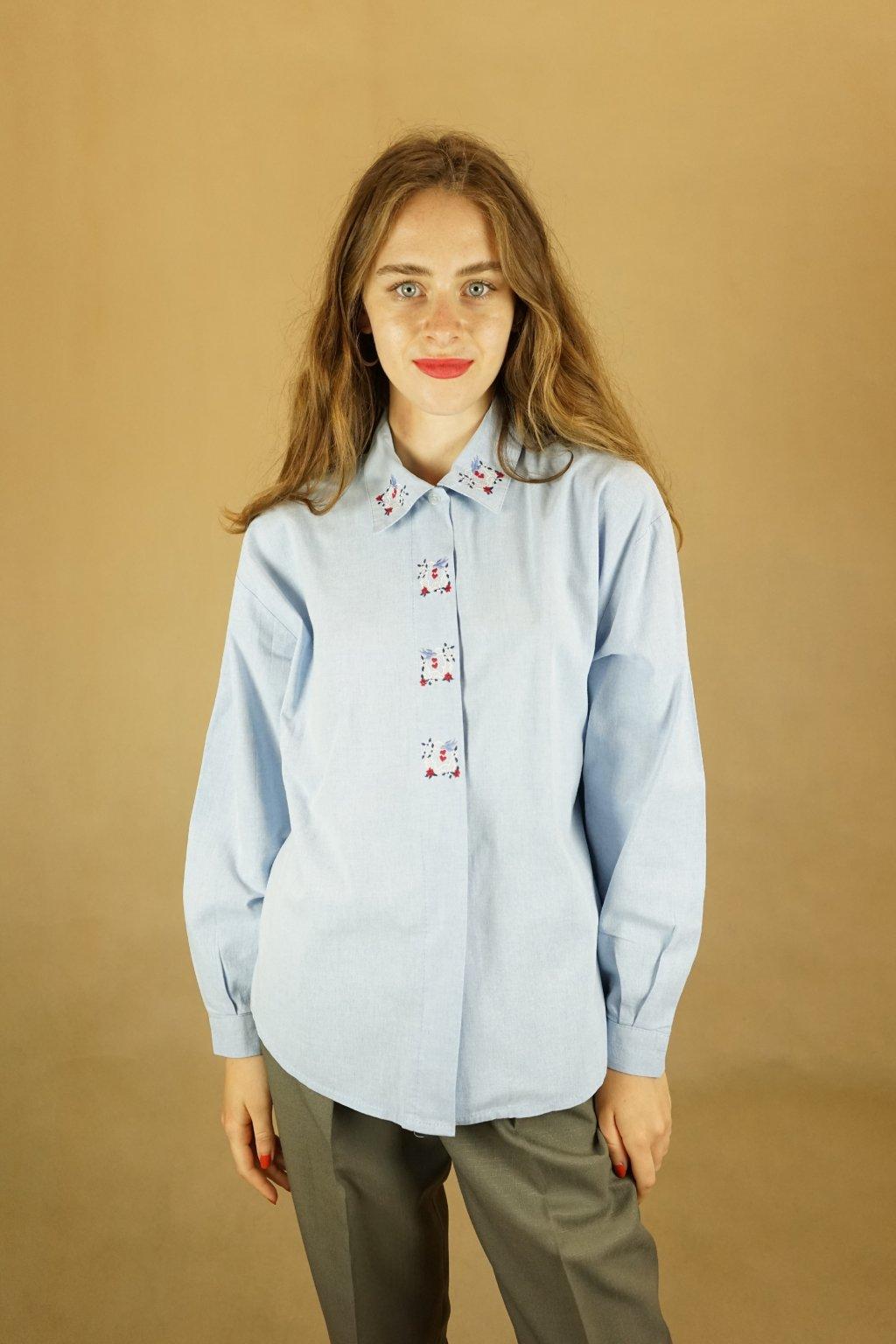 Košile s výšivkou vel. L