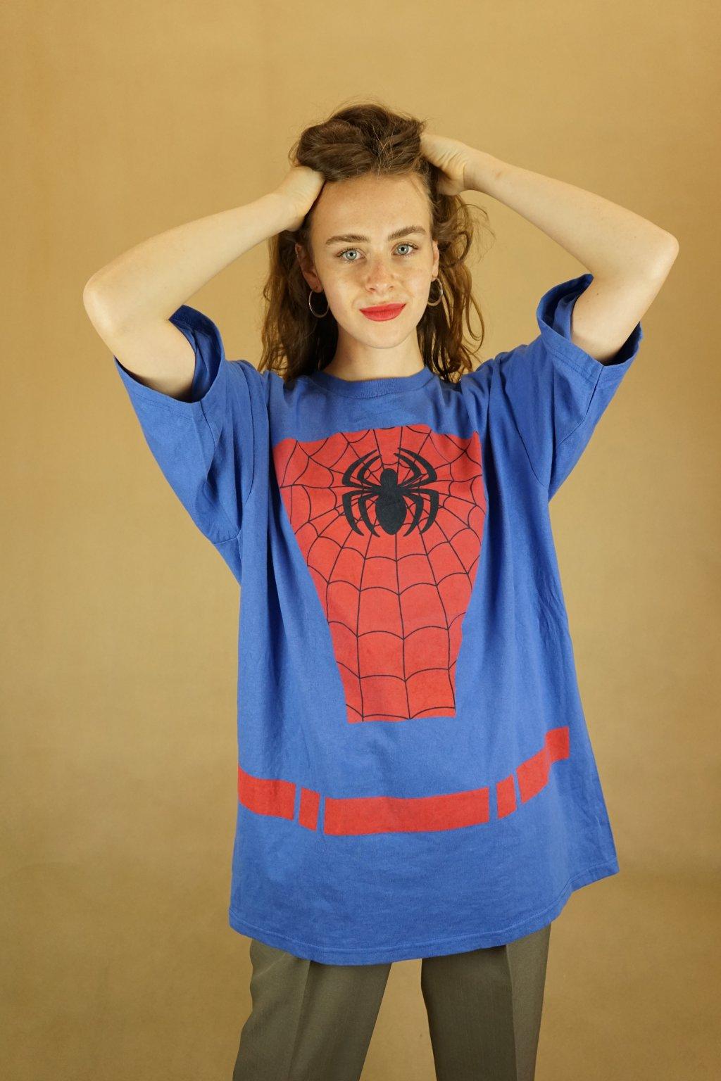 Spiderman triko vel. XL