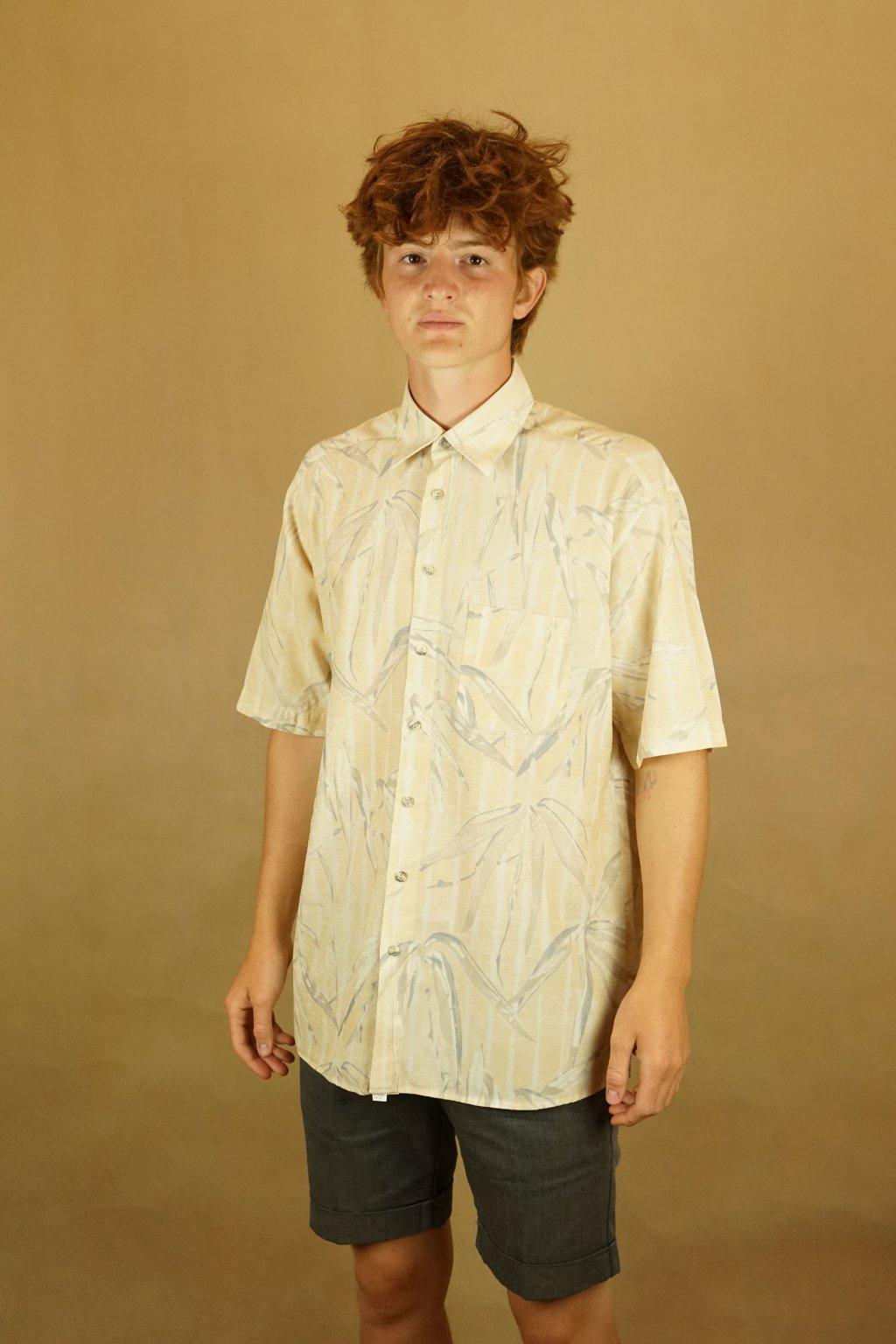 Vzorovaná košile vel. L