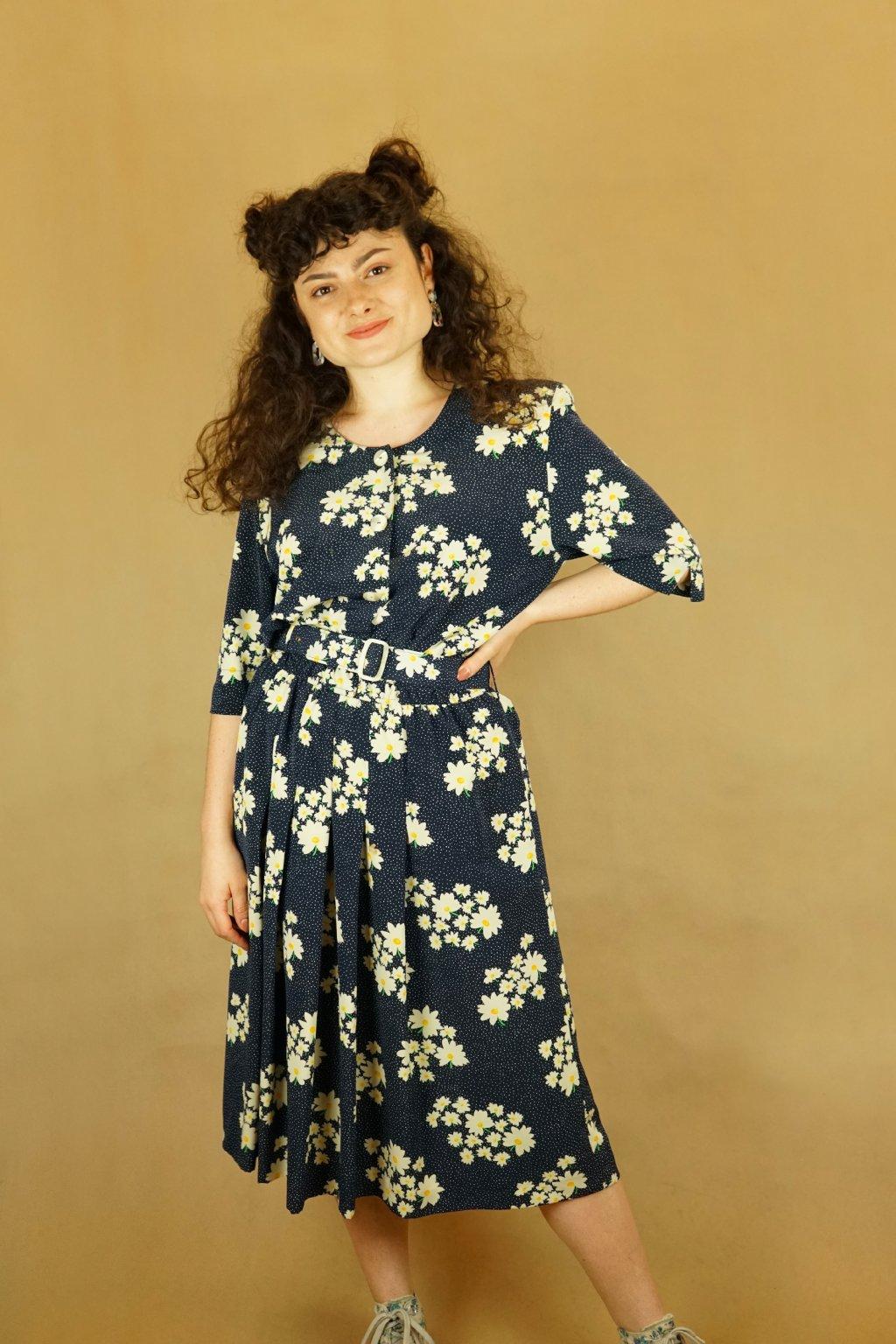 Květinové šaty vel. M/L